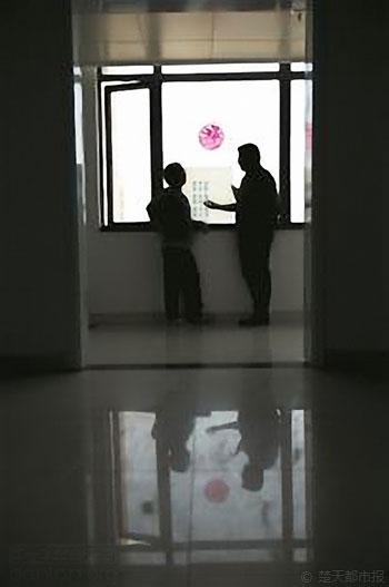 """武汉最大艾滋病诊区悄然""""变脸"""""""