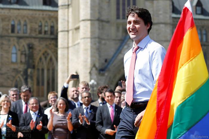 加拿大将在年内为歧视同志的历史道歉