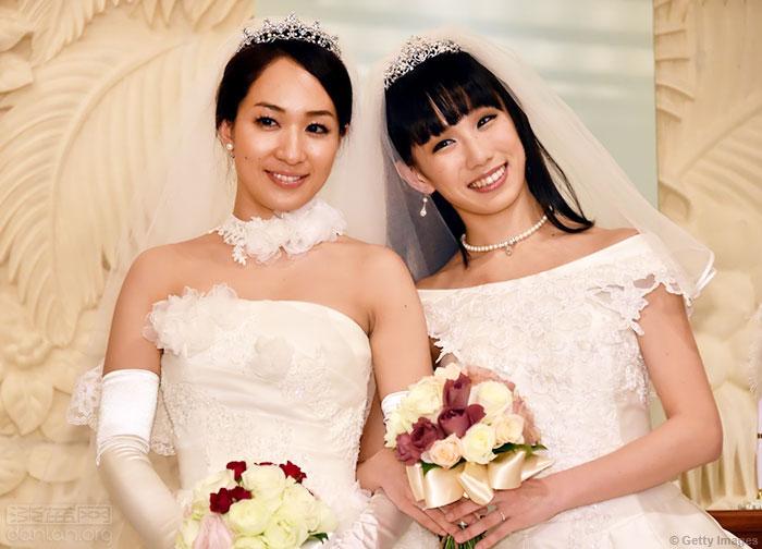 日本艺人和同性伴侣婚后两年分手