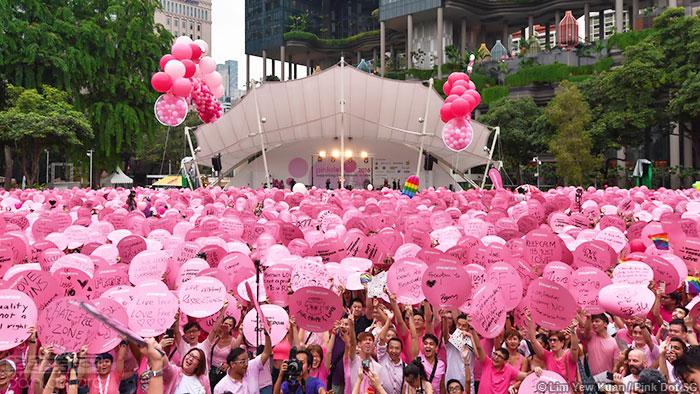 新加坡同志活动被迫婉拒外国人参加