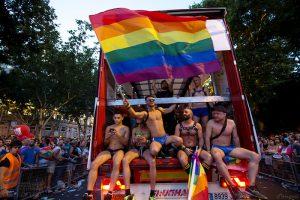 世界同志骄傲巡游在马德里举行