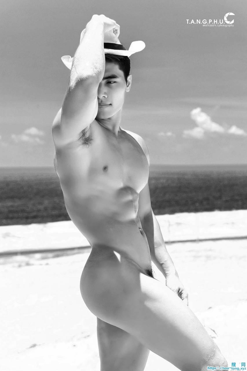 肌肉和颜值超棒的型帅