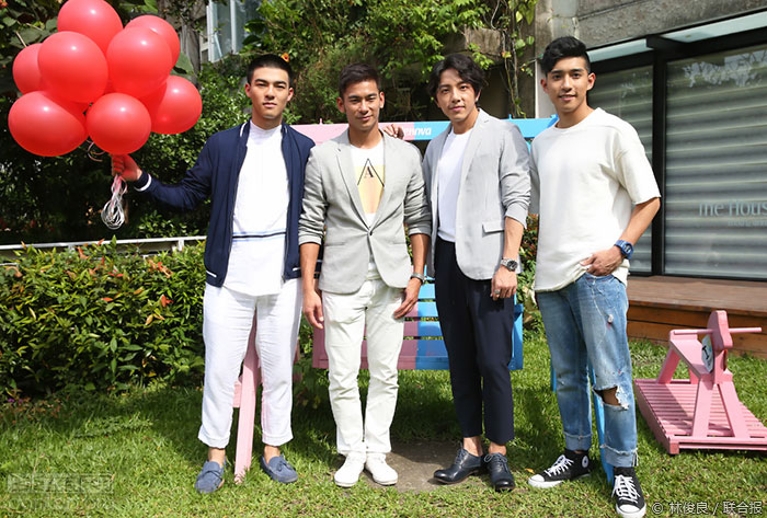 同志纯爱网剧《红色气球》首映会放送基情