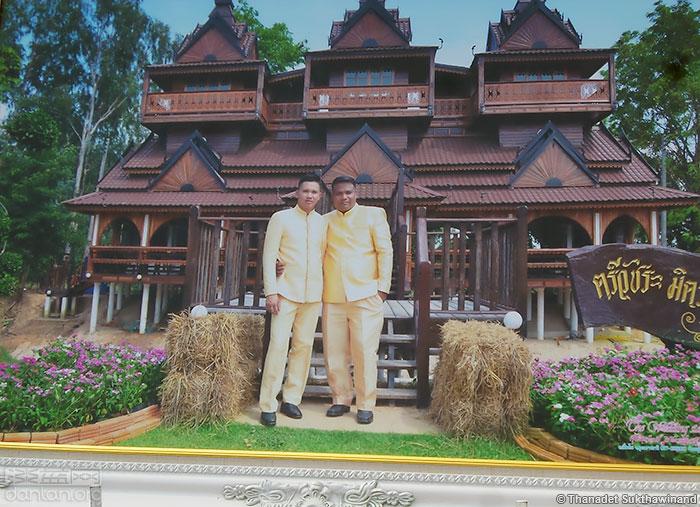 泰国警察的同性婚礼引起热议
