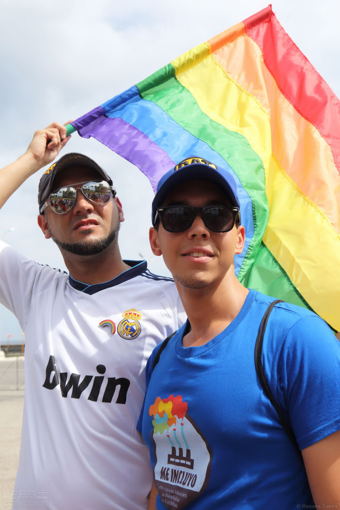 古巴首都同志纪念国际不再恐同日