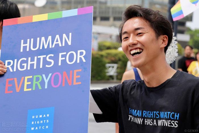 日本东京同志巡游呼吁接纳多样化