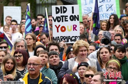 涉侵隐私、暴力频发 澳大利亚同性婚姻邮寄式公投现弊端