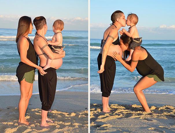 女同性恋人梦想着拥有自己的孩子