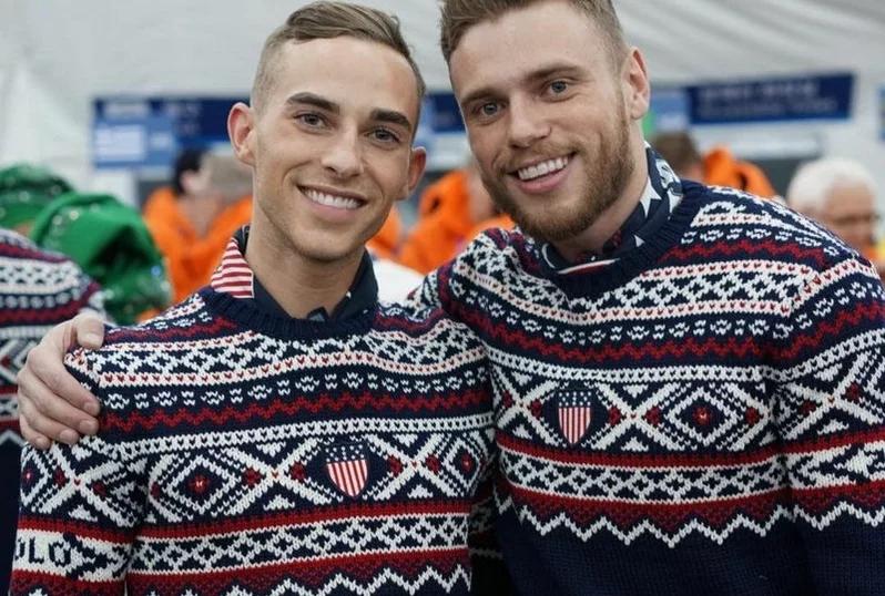 这对同性恋运动员在平昌奥运会出尽了风头