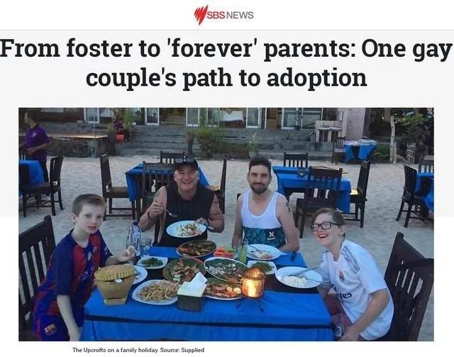 组建幸福家庭 澳同性伴侣讲述收养孩子经历