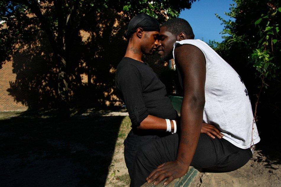 一对美国黑人男同性恋私下的真实生活 就如普通情侣般甜蜜