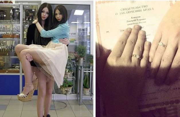 一对俄罗斯夫妻,因被怀疑是同性恋,遭拒登记,只因老公太漂亮