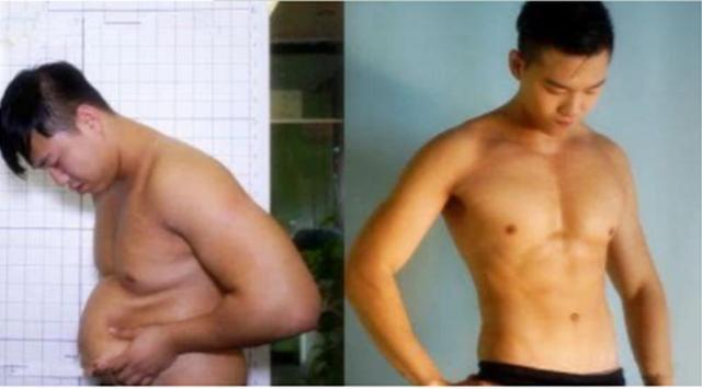 95后肌肉男从小鲜肉到油腻大叔,再次瘦下来只为证明健身减肥有效