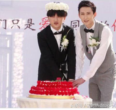 他们公开承认同性恋,颜值超高,在北京结婚……