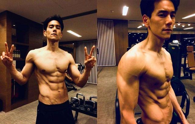 娱乐圈中拥有完美身材的健身男神,你也该健身啦