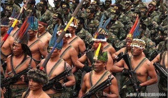 """各国军人体格对比图,印度的""""最厉害"""""""