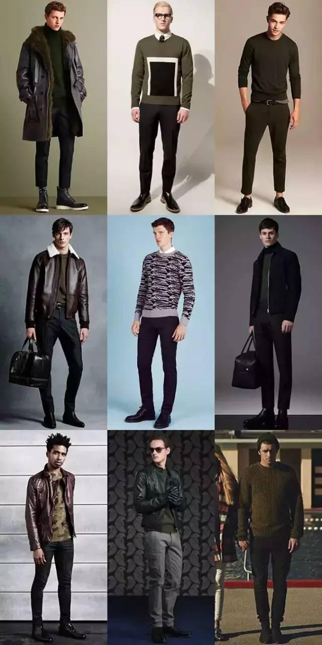 男生秋冬天穿什么样的毛衣才好看?