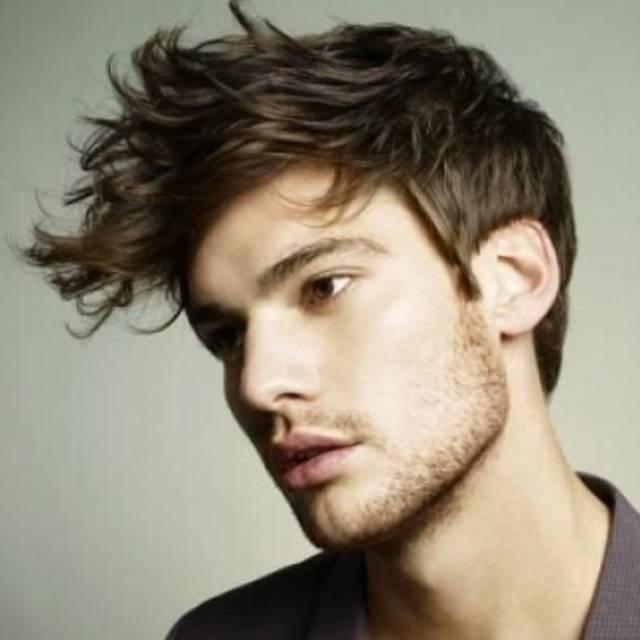 男士秋冬剪个Quiff发型,你都不知道自己竟然能这么爷们!