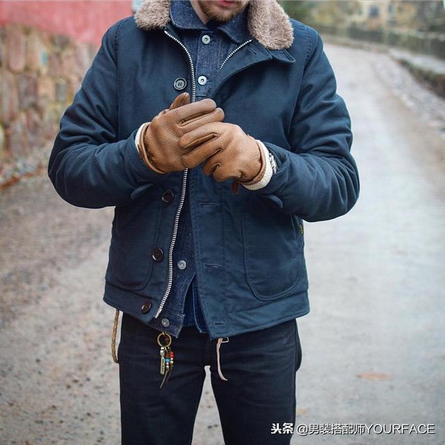 新年到来,新的一年男生穿工装风吧,这样搭配有型又保暖帅气