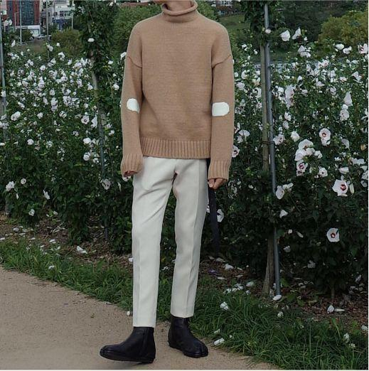 男生穿衣服好看有品味,长相不出众也无所谓