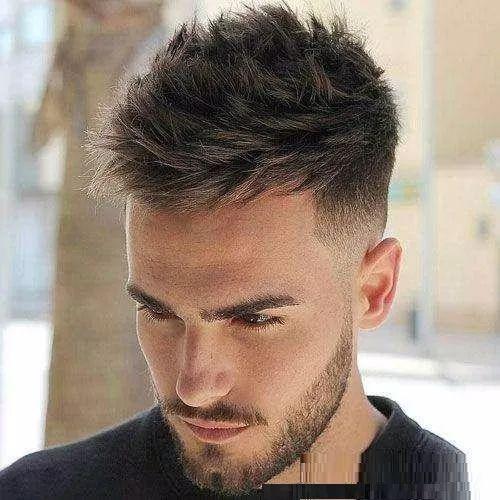 2019男士流行发型,男生不喜后2款,而女生却很痴迷