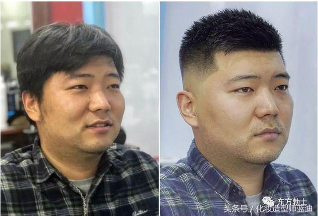 男生从丑变帅,果然发型决定颜值!