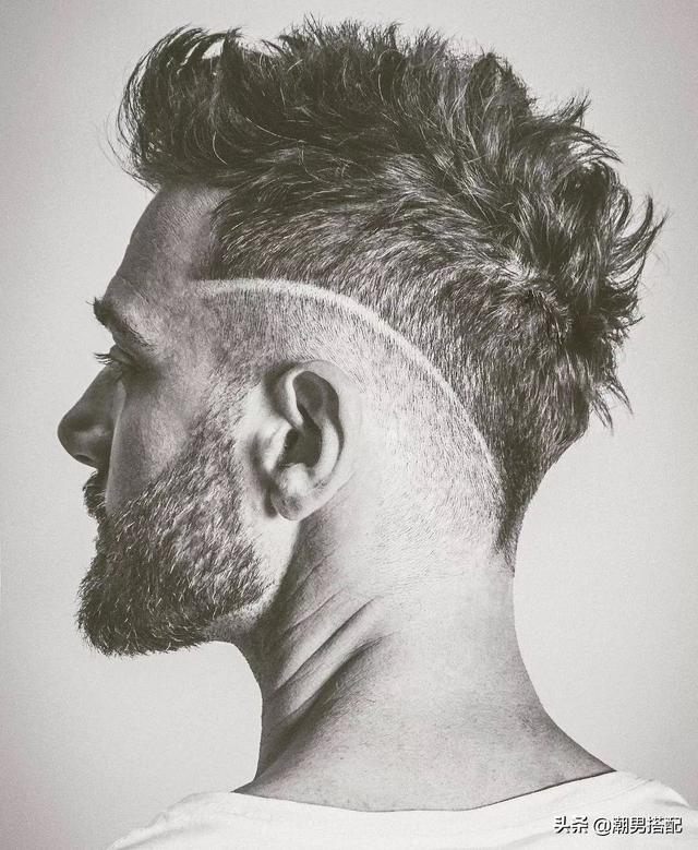 没有欧美人的五官,有欧美人的发型,一样可以很帅!